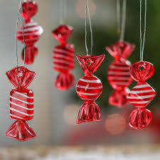 candy ornaments miniature wrapped candy ornaments christmas miniatures