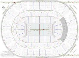 Nhl Map Chesapeake Energy Arena Hockey Games Arena Seating Capacity