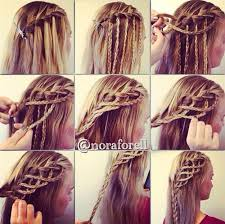 hair braiding styles step by step a couple step by step hairstyles i found on a facebook page i like