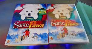 the search for santa paws u003d new dvd exciting bonus with pop up