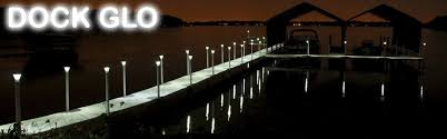 Solar Dock Lights Dock Glo Lake And River Dock Light System Attractive Functional