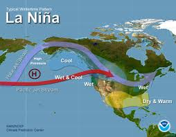 Weather Map For The United States by Tampa Bay El Nino Page