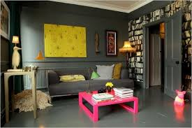 yellow and grey room small life slow life just for fun pink grey photos small