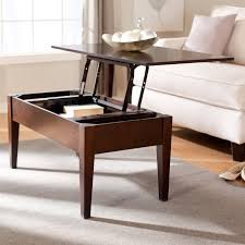 the best coffee tables with rising top