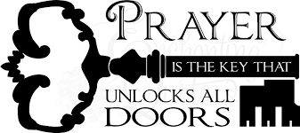 religious wall quotes wall decals prayer is the key