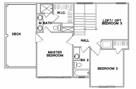 Two Family Floor Plans by Two Story One Family House Elevation And Plans