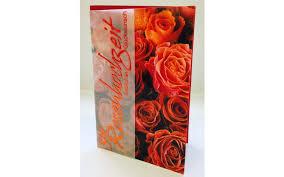 gl ckwunschkarte hochzeitstag rosenhochzeit glückwunschkarte im format 11 5 x 17 cm mit