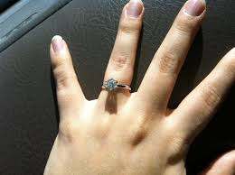 real engagement rings pictures of real engagement rings weddingbee
