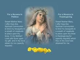 the luminous mysteries of the rosary novena