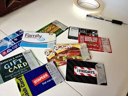 gift card organizer how i store organize and track our gift cards andrea dekker