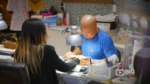 inail spa a nail salon in vancouver offering pedicure manicure