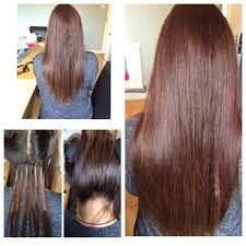 Hair Extensions With Keratin Bonds by Qualified Hair Extension Specialist Keratin Bonds Micro Rings Nano
