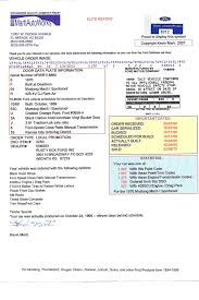 a marti report is a birth certificate for your ford muscle car