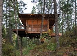 Hillside Cabin Plans Cabin On Flathead Lake Andersson Wise Architects