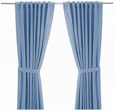 Ikea Vivan Curtains Decorating Jolly Chocolate Brown Along With Blue Curtains Light Brown Shower