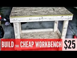 best gun cleaning table build a garage workbench for 25 here s how youtube