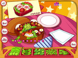 girlsgogames cuisine cutesy bento a free on girlsgogames com