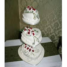 heart wedding cake susulio heart shaped wedding cakes decorated with made