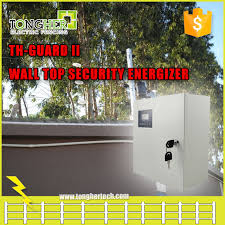 anti climb home security electric fence energiser with power shock