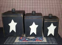 primitive kitchen canister sets best 25 primitive canisters ideas on country