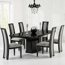 marble dining table and 8 chairs uk furniture in fashion