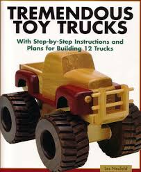Instructions Build Wooden Toy Truck by Dempsey Woodworking Monster Truck