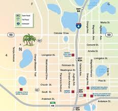 Map Of Kissimmee Orlando Maps Florida U S Maps Of Orlando
