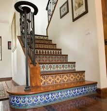 Painted Stairs Design Ideas Stairs Mosaic Mosaic Stairs Mosaics And Patterns
