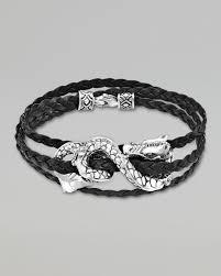 dragon leather bracelet images Lyst john hardy naga black leather triple wrap dragon bracelet jpeg
