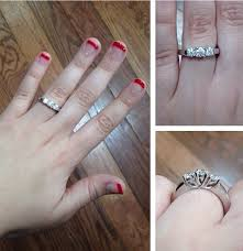 my wedding band using my engagement ring as a wedding band and possibly getting a