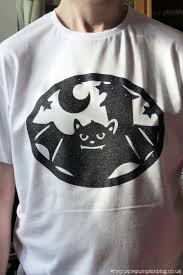 design a t shirt for halloween using the cricut explore