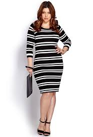 20 plus size black and white dresses babble