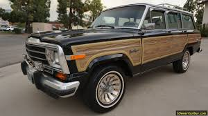 classic jeep wagoneer sj jeep grand wagoneer woodie for sale woody classic v8 review