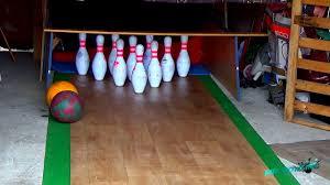 homemade bowling alley crazy homemade