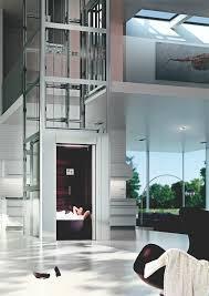 thyssenkrupp encasa he 7 home elevator glass elevator