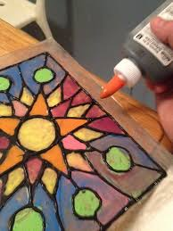 faux stained glass a fun project for kids using plexi art for