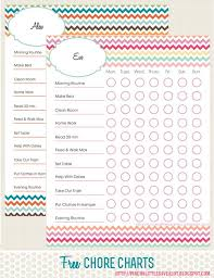 best chore charts for kids weekly chores free printable chore