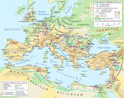 Punic Wars Map The Roman Empire In 125