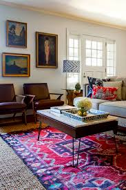 Red Tribal Rug Tribal Rug Layered Over Jute Design Manifest Inspiring