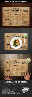 customizable menu templates best 25 food menu design ideas on menu design