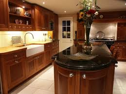 awesome kitchen design trends with black granite countertops and