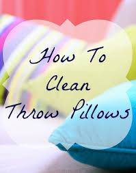 Newport Decorative Pillows How To Clean Throw Pillows Home Ec 101