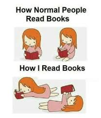 Reading Book Meme - how normal people read books how i read books books meme on sizzle