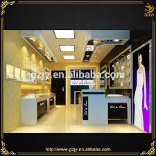 Jewelry Shop Decoration First Class Commercial Jewelry Counter Jewelry Shop Decoration And