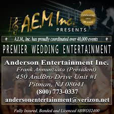 nj wedding bands aem wedding bands cover band pitman nj