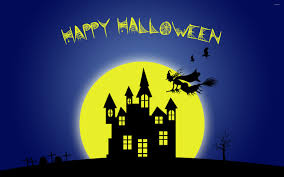 halloween background witch moon happy halloween wallpaper wallpapers browse