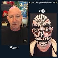 Halloween Makeup For Work by Custom Halloween Makeup Creation By Luna Designs Studio