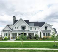 modern farm homes modern farmhouse details in a grand home curb appeal pinterest