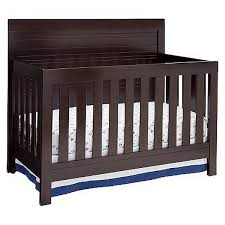Simmons Convertible Crib Simmons Slumbertime Rowen 4 In 1 Convertible Crib Black
