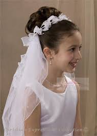 communion headpieces communion wreath veil with flowers holy communion